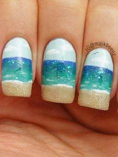 The Summer Beauty Bucket List #beach #nails #seashore