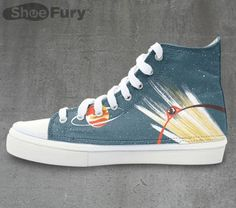 Bebop Along In These Swordfish Hi-Tops