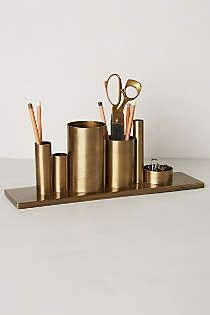 Anthropologie - Codify Pencil Holder - for makeup brush storage