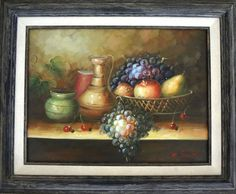 Cool for rustic or in a funky colorful room! Original in nice frame!