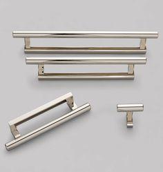 """Upton Drawer Pull 12"""" - Polished Nickel C2411"""