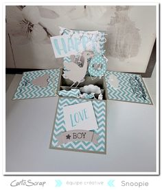 Cartoscrap - Carte Pop Up par Snoopie - Tuto offert !!