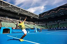 The Australian Open is just around the corner! Melbourne's new Margaret Court Arena is now open to players, with a brand new roof.