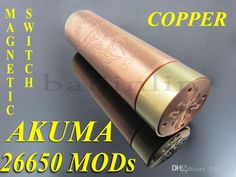Best 26650 Akuma Mod - Cheap 26650 Akuma Mods New Design Magnetic Switch Make of Copper High Quanlity And Best Selling 26650 Mod Akuma Via Dhl Online with $15.92/Piece | DHgate