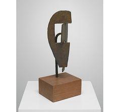 Masque 'ombre et lumière' by Julio González,