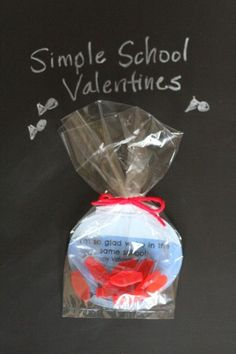 """Fishbowl Valentines:  """"I'm Glad We're in the Same School!"""" {free printable}"""