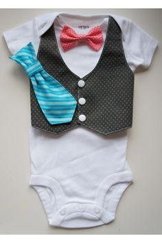 Baby boy onesie - this will happen.