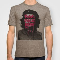 BUY: http://society6.com/product/you-can-be-famous-too_t-shirt?curator=4thecrime