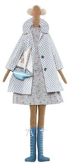 Tilda Doll Kit - Seaside Girl from the NEW The Seaside Life Range