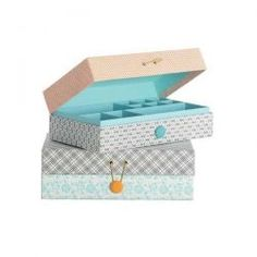 House Doctor / Kartonový box Jewellery Ella