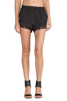 SAM&LAVI Bianca Short in Black