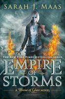 Empire of Storms, by Sarah J. Maas