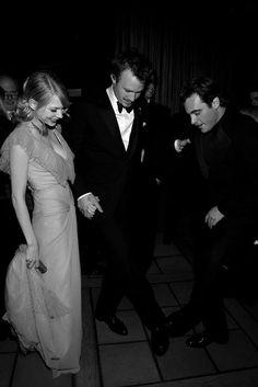Heath Ledger & Michelle Williams & Joaquin Phoenix