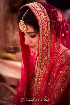 Photo From bridal - By Rabia Makeup Artist Bridal Dupatta, Indian Bridal Lehenga, Indian Bridal Fashion, Bridal Outfits, Bridal Dresses, Bridal Looks, Bridal Style, Indian Wedding Pictures, Bride Poses