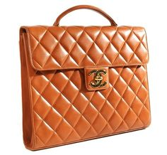 Chanel Quilted Briefcase