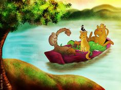 In the same boat by Unihorse and Lydia  super cute sketch and animation :)