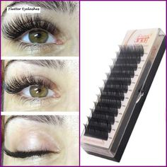 Silk Eyelash Further All size,High Quality Eyelash Extension Mink - Presspia - Eye Make up Silk Eyelash Extensions, Individual Eyelash Extensions, Spring Eye Makeup, Eyelash Sets, Individual Eyelashes, Makeup Brush Cleaner, Wedding Makeup Looks, How To Clean Makeup Brushes, Magnetic Eyelashes