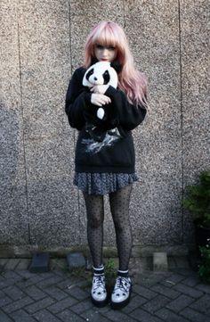 panda Grunge
