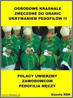 Ukrywanie pedofilii męczy Weekend Humor, Poland, Mafia, Peace, Memes, Quotes, Decor, Historia, Quotations