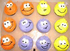 puffle cupcakes