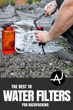 Backpacking Water Filters 101.Find out why you need a water filter, what to consider when choosing one and the best backpacking water filter available.