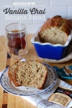 Bigelow Vanilla Chai Banana Bread The Perfect Mommy Time Out Snack #AmericasTea #shop #cbias