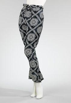 Pants  Charles James, 1956  The Metropolitan Museum of Art