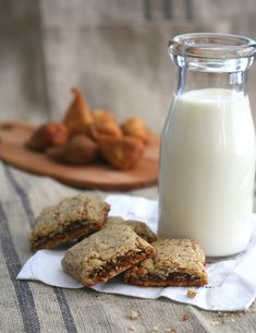 Gluten-Free Fig Newtons with no added sugar