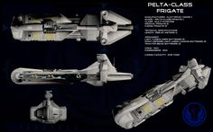 Pelta class frigate ortho by unusualsuspex.deviantart.com on @deviantART