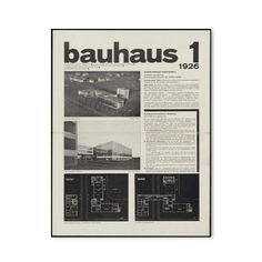 One hundred years after the founding of Bauhaus, it s time to revisit bauhaus journal as significant written testimony of this iconic movement of modern art. In this journal, published periodically from 1926 to 1931, the most important voices of the movement are heard.