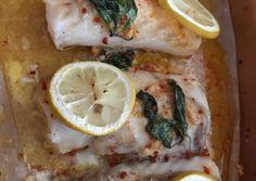 Sütőben sült borsos tőkehal recept foto Chicken, Food, Essen, Meals, Yemek, Eten, Cubs