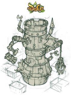 Voici quelques concepts que j'avais réalisés il y a quelques mois, lors de la création de l'extension de Dofus...