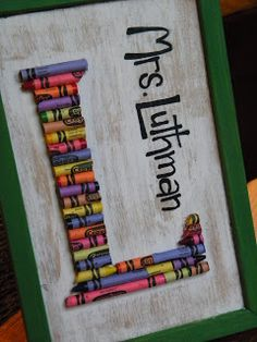 Fun for a child's room or as a gift for a teacher.