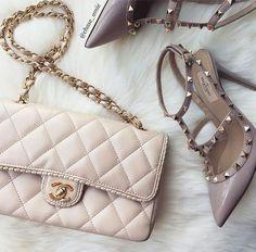 eabbd6f8f3b6 Imagem de ♡ Isabel Pink Princess ♡ Designer Taschen, Pink Chanel Bag, Chanel  Bags