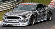 2016 Mustang Shelby GT500 / SVT Drops Camo, Shows Its Fangs on the 'Ring - Carscoops