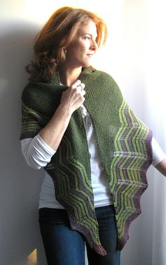 Veera Hidden in the Garden shawl - many versions are on Ravelry!