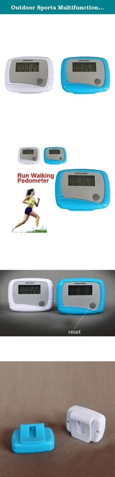 Outdoor Sports Multifunction Pedometer Walk Mate Calorie Counter Color Random. Features: 1.With it you will be more love sports 2.Comes with reset botton and carrying clip ofr easy carrying. 3.With memory function,when it is stop the product is in dormant state 4.Vibration transducer electronic counter 5.Pedometer counts walking steps according to waist movement.So Hang on the vibration transducer on belt can make it use more suitable and effective.