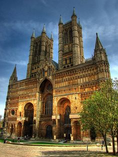 Lincoln cathedral , England