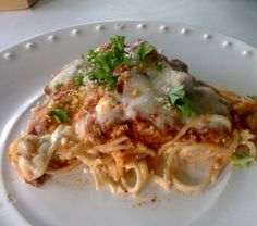 Weight Watchers Spaghetti Pie - 7 Weight Watchers points
