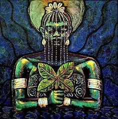 AJA – African Goddess (Orisha) of the forest, animals and herbal healers
