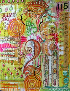 Art journal - Doodle by thekathrynwheel, via Flickr