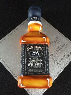 Jack Daniels cake by Paul of Happy Occasions Cakes.