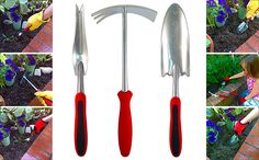 Good solid garden tool set to have and use around my garden.  Click image to order!