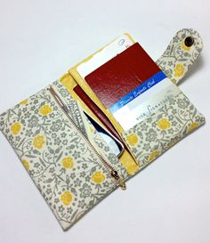 Passport Wallet / Passport Holder / with zipper