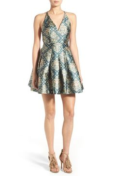 MINKPINK 'Dare to Dance' Backless Skater Dress available at #Nordstrom