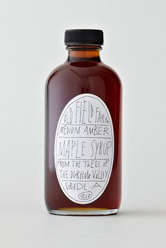 Old Field Farm Maple Syrup.