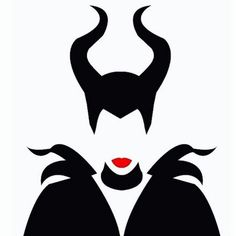 Imagem de maleficent, disney, and Angelina Jolie Silhouette Cameo, Silhouette Projects, Disney Silhouette Art, Disney Crafts, Disney Art, Disney Fonts, Disney Canvas Art, Evil Disney, Disney Stencils