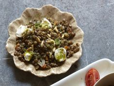 Lentils and Mozzarella Caprese From 'Feast'