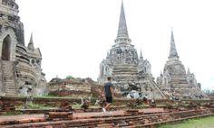 Wat Phra Si Sanphet stoepas. Thailand, Ayutthaya- Travelhype