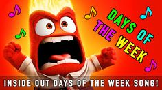 Inside Out Days of The Week Song!